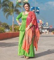 Nithya-Menen-attractive-in-salwar-suit-2