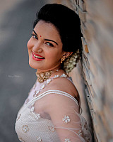honey-rose-in-transparent-white-saree-9
