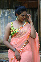 indhuja-ravichandran-in-sleeveless-blouse-44