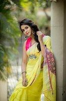 Chaitra-Reddy-ravishing-in-saree-1