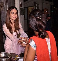 Kriti-Kharbanda-in-Transparent-Pink-Dress-1