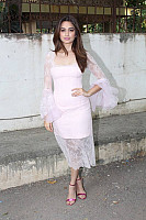 Kriti-Kharbanda-in-Transparent-Pink-Dress-4